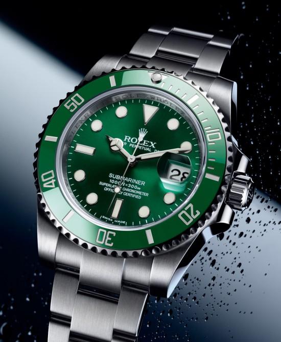 rolex-submariner-yeşil-kol-saati