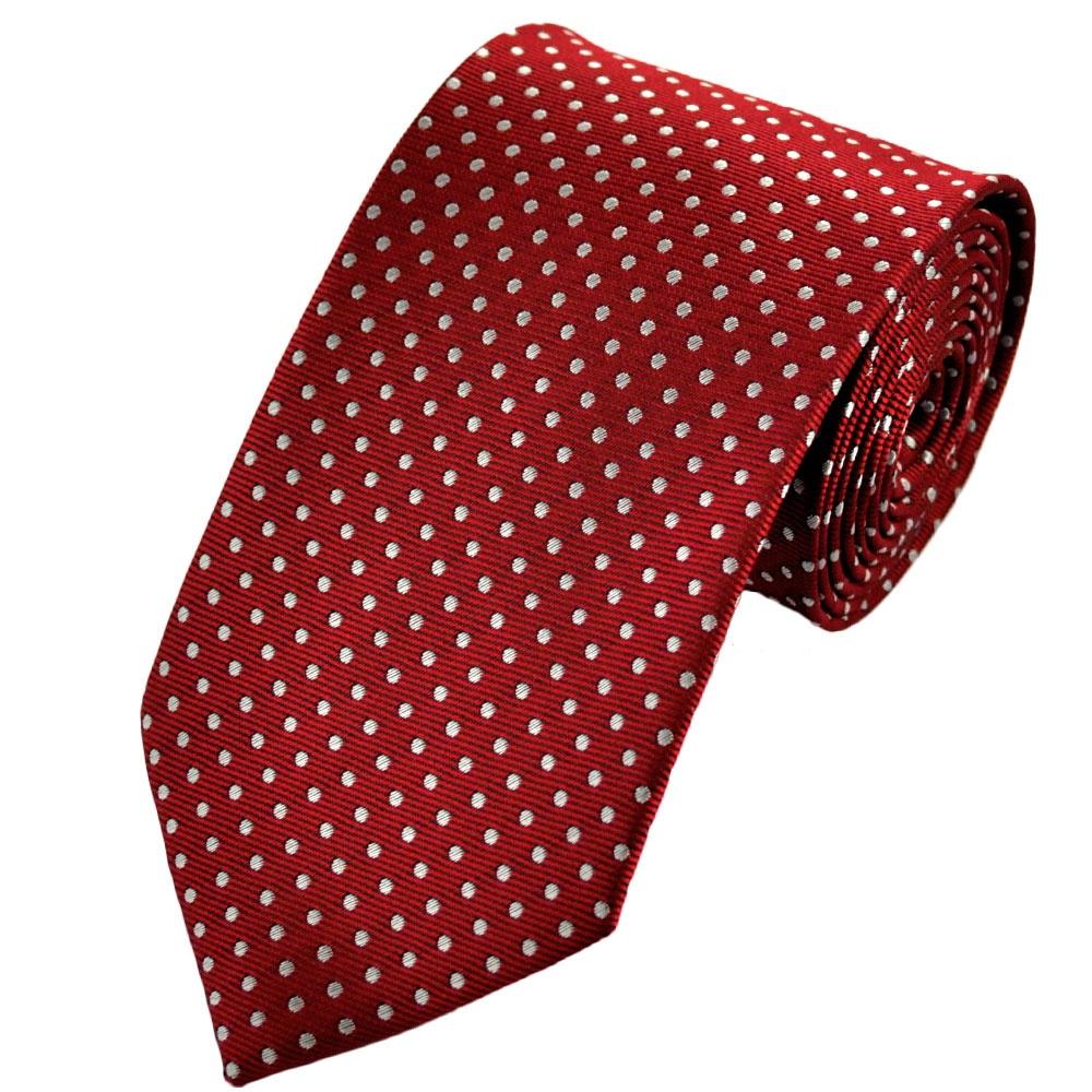 kırmızı-noktalı-kravat